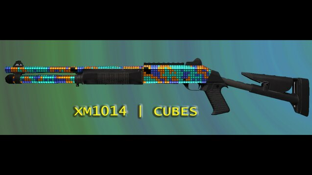 XM-1014 | CUBES  (скин в cs go)